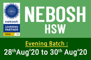 NEBOSH HSW ( Health & Safety at Work )