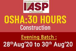 OSHA 30 Hour Construction Safety Course