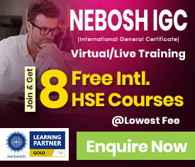 NEBOSH Online Course Exam Dates